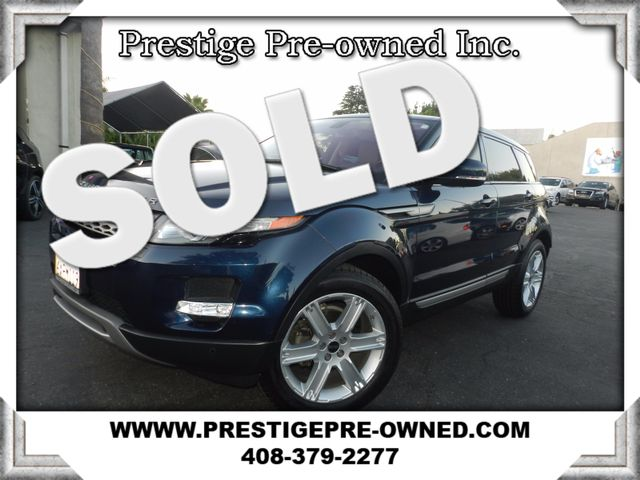 2012 Land Rover Range Rover Evoque Pure Plus  in Campbell CA