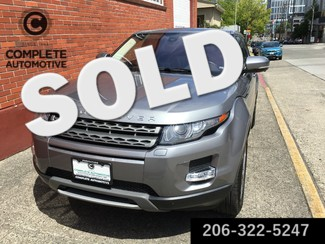 "2012 Land Rover Range Rover Evoque Pure Premium Factory Warranty  Heated Navigation Rear Camera Moonroof 19"" Seattle, Washington"