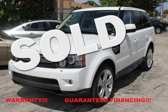 2012 Land Rover Range Rover Sport HSE LUX  WARRANTY 1OWNER FLORIDA VEHICLE An impressive