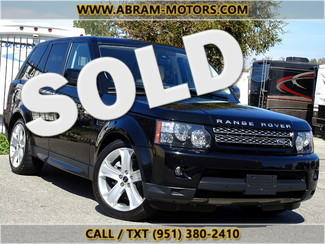 2012 Land Rover Range Rover Sport HSE LUX - 1 OWNER -