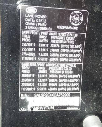 2012 Land Rover Range Rover Sport Autobiography Virginia Beach, Virginia 31