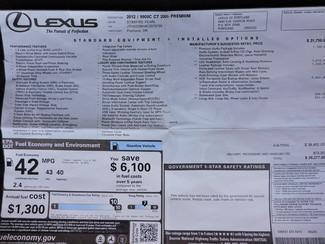 2012 Lexus CT 200h Hybrid. Premium. Loaded! Bend, Oregon 27