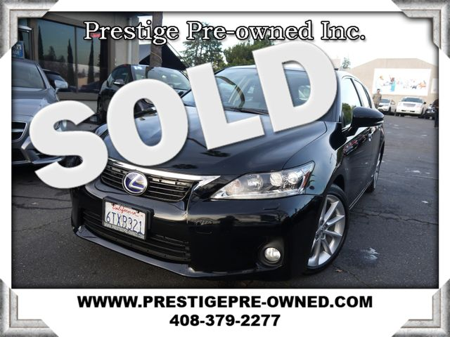 2012 Lexus CT 200h PREMIUM *NAVIGATION & BACKUP CAMERA* LOADED*  in Campbell CA