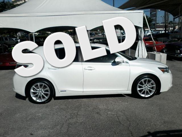 2012 Lexus CT 200h Hybrid Premium San Antonio, Texas 0