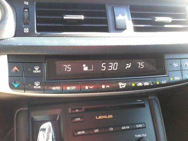 2012 Lexus CT 200h Hybrid Premium San Antonio, Texas 21