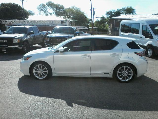 2012 Lexus CT 200h Hybrid Premium San Antonio, Texas 4