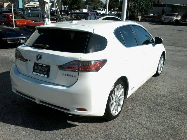2012 Lexus CT 200h Hybrid Premium San Antonio, Texas 7