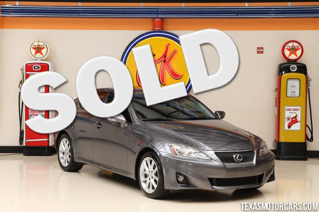 2012 Lexus IS 250 This clean Carfax 2012 Lexus IS 250 is in great shape with only 68 785 miles T