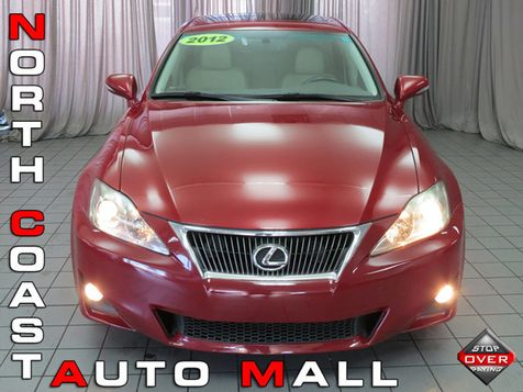 2012 Lexus IS 250 4dr Sport Sedan Automatic RWD in Akron, OH