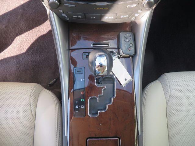 2012 Lexus IS 250 Charlotte-Matthews, North Carolina 18