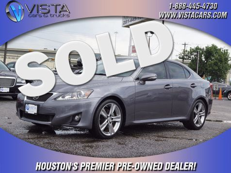 2012 Lexus IS 250 Base in Houston, Texas