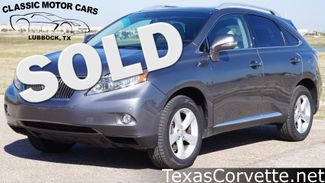 2012 Lexus RX 350 in Lubbock Texas