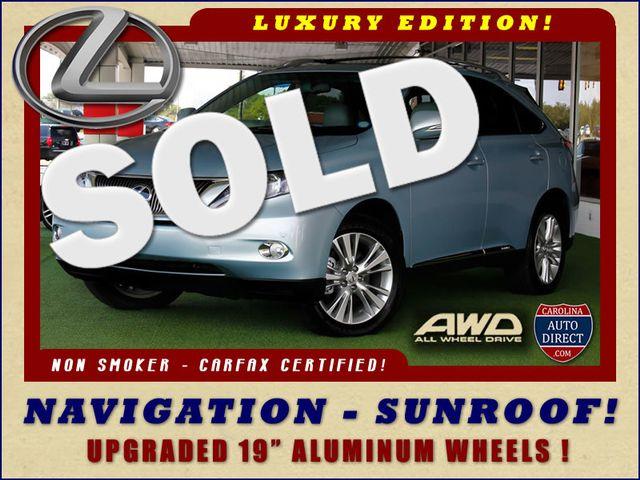 2012 Lexus RX 450h AWD - LUXURY EDITION - NAVIGATION - SUNROOF! Mooresville , NC 0