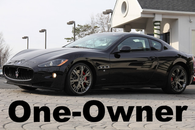 2012 MASERATI GranTurismo S Automatic 2dr Coupe CD Player Anti-Theft AC Cruise Power Locks Pow