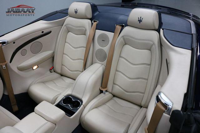 2012 Maserati GranTurismo Convertible Sport Merrillville, Indiana 12