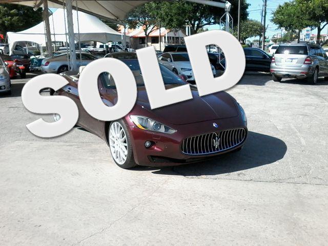 2012 Maserati GranTurismo Convertible San Antonio, Texas 0