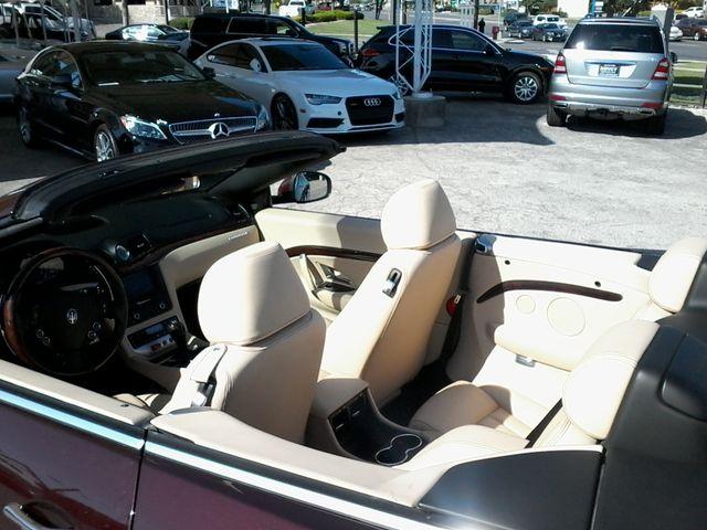 2012 Maserati GranTurismo Convertible San Antonio, Texas 16