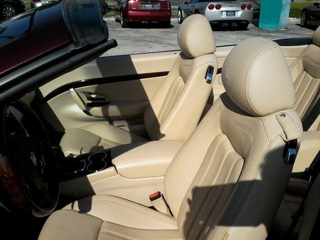 2012 Maserati GranTurismo Convertible San Antonio, Texas 17
