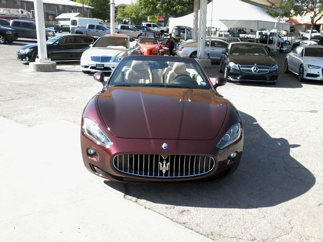 2012 Maserati GranTurismo Convertible San Antonio, Texas 3