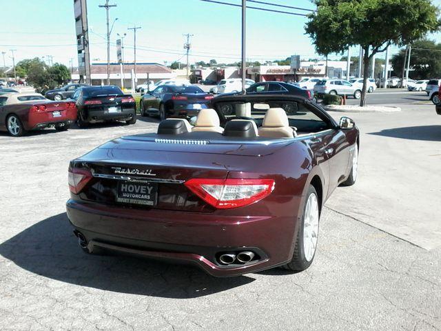 2012 Maserati GranTurismo Convertible San Antonio, Texas 5