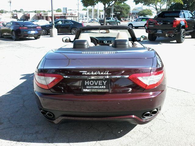 2012 Maserati GranTurismo Convertible San Antonio, Texas 6