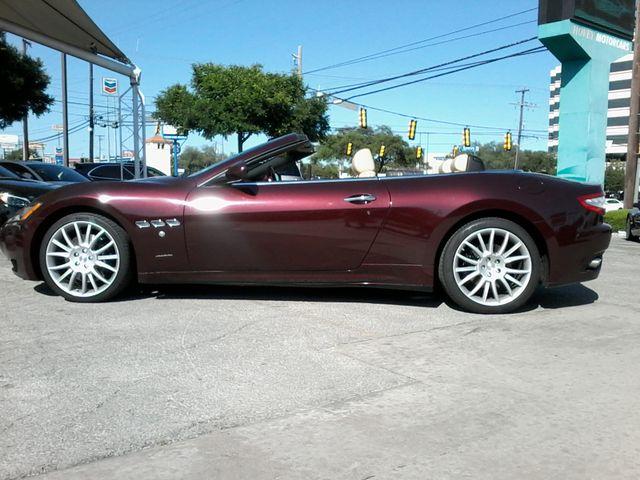 2012 Maserati GranTurismo Convertible San Antonio, Texas 8