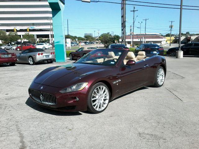 2012 Maserati GranTurismo Convertible San Antonio, Texas 1