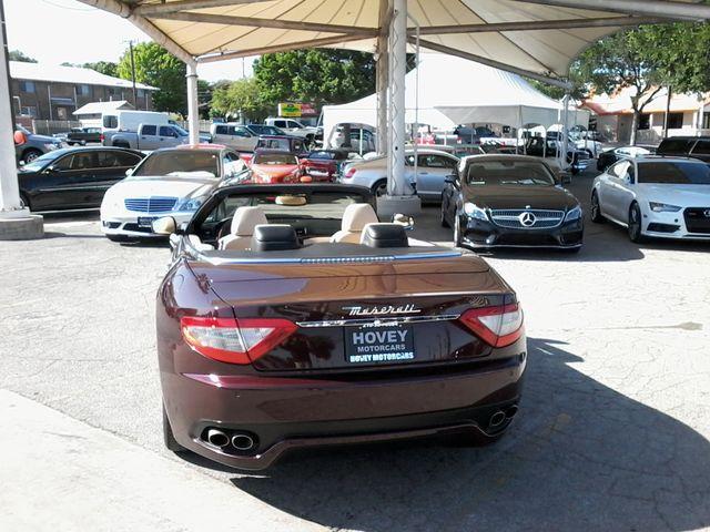 2012 Maserati GranTurismo Convertible San Antonio, Texas 9