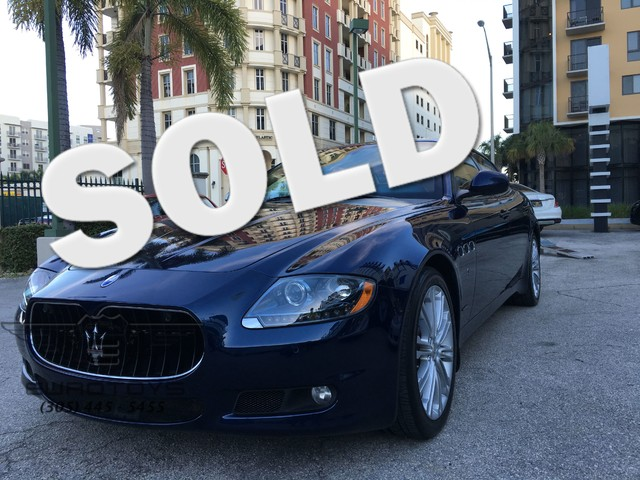 2012 Maserati Quattroporte GT S  VIN ZAM39JKA4C0065674 45k miles  AMFM CD Player Sunroof A