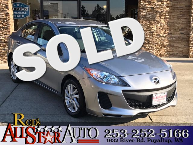 2012 Mazda Mazda3 i Touring The CARFAX Buy Back Guarantee that comes with this vehicle means that