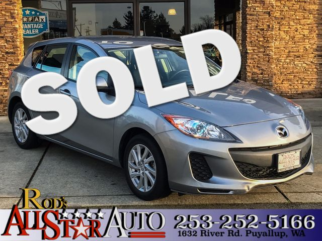 2012 Mazda Mazda3 i Touring This vehicle is a CarFax certified one-owner used car Pre-owned vehic