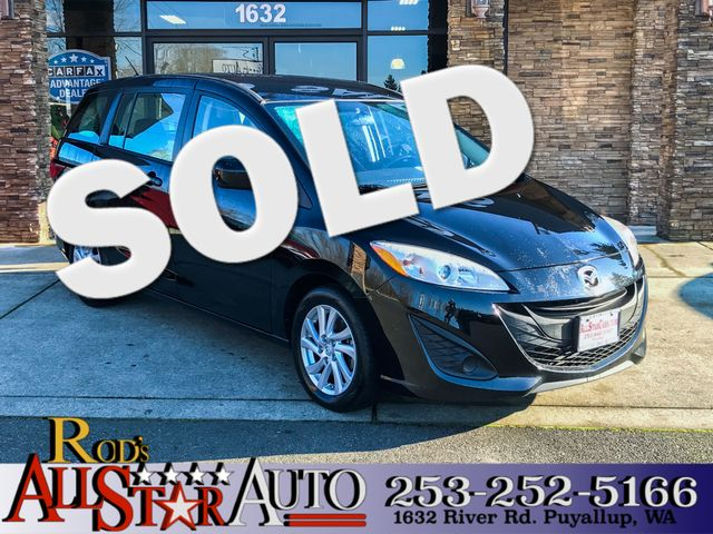 2012 Mazda Mazda5 Sport This vehicle is a CarFax certified one-owner used car Pre-owned vehicles