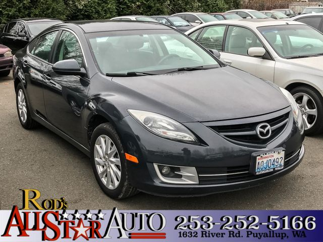 2012 Mazda Mazda6 i Touring The CARFAX Buy Back Guarantee that comes with this vehicle means that
