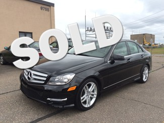 2012 Mercedes-Benz C300 4matic AWD Luxury Package Navigation 43k Miles Maple Grove, Minnesota