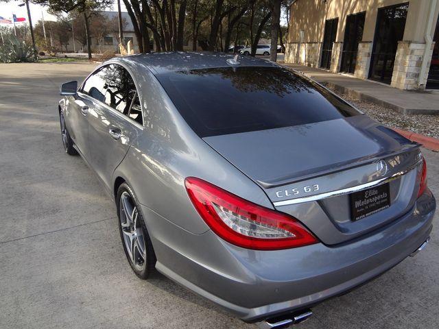 2012 Mercedes-Benz CLS 63 AMG Austin , Texas 3