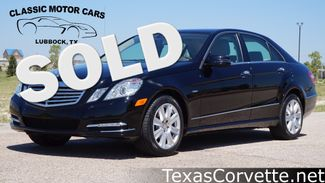 2012 Mercedes-Benz E 350 in Lubbock Texas
