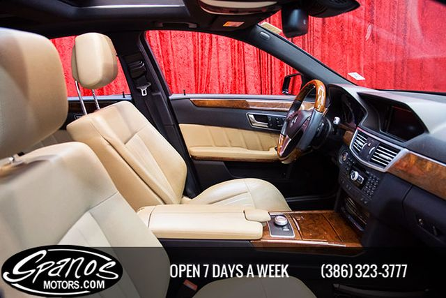 2012 Mercedes-Benz E 550 Sport Daytona Beach, FL 42