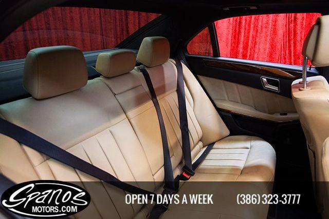 2012 Mercedes-Benz E 550 Sport Daytona Beach, FL 43