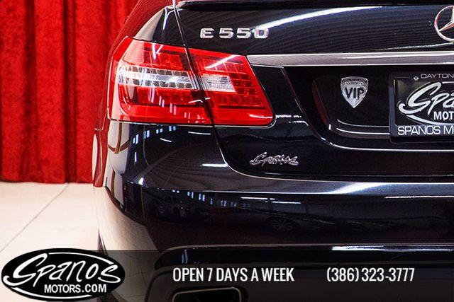 2012 Mercedes-Benz E 550 Sport Daytona Beach, FL 14