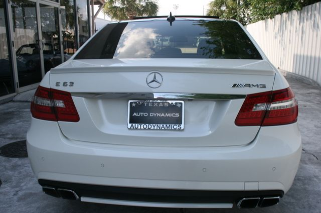 2012 Mercedes-Benz E 63 AMG Houston, Texas 4