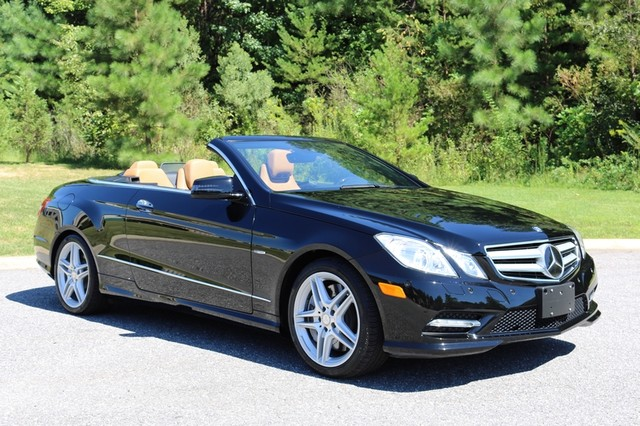 2012 Mercedes-Benz E550 Mooresville, North Carolina 0