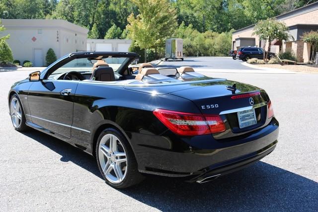2012 Mercedes-Benz E550 Mooresville, North Carolina 3