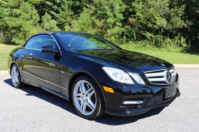 2012 Mercedes-Benz E550 Mooresville, North Carolina 88