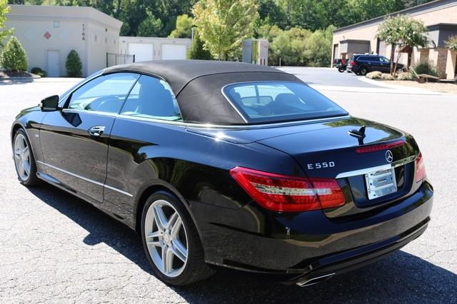 2012 Mercedes-Benz E550 Mooresville, North Carolina 66