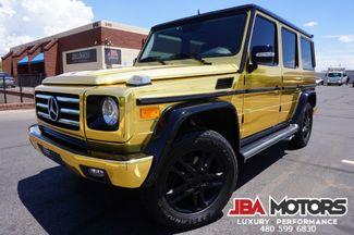 2012 Mercedes-Benz G550 G Wagon G550 G Class 550 24kt GOLD | MESA, AZ | JBA MOTORS in Mesa AZ