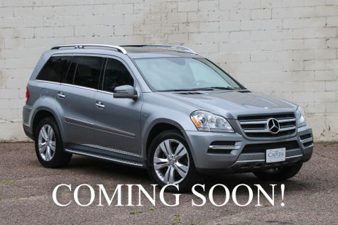 2012 Mercedes-Benz GL350 4Matic AWD BlueTEC Diesel SUV w/3rd Row Seats, Navigation, Blind Spot Alert & Tow Pkg in Eau Claire
