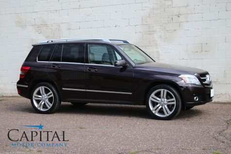2012 Mercedes-Benz GLK 350 4Matic AWD Sport SUV w/Navigation, Panoramic Roof, 20