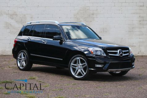 2012 Mercedes-Benz GLK 350 4Matic AWD Sport SUV w/Navigation, Panoramic Roof, Harman/Kardon Audio & 20