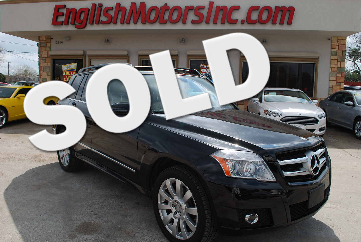 2012 mercedes benz glk350 brownsville tx english motors English motors inc