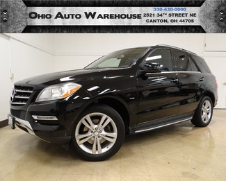 2012 Mercedes-Benz ML 350 4Matic V6 Navi Sunroof Clean Carfax We Finance  in  Ohio